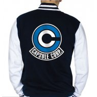 CHAQUETA DRAGON BALL CAPSULE CORP L