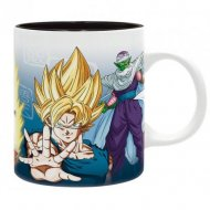 TAZA DRAGON BALL SAIYANS & PICCOLO